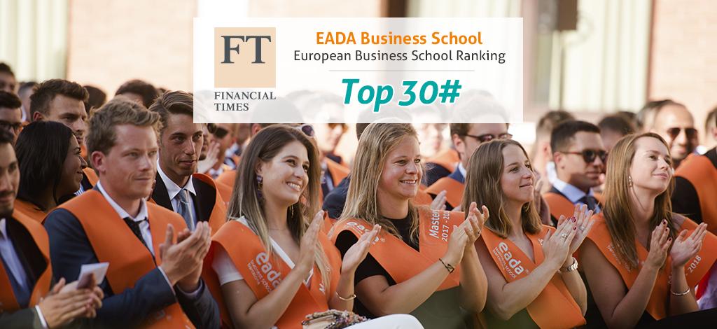 Eada Entre Las Mejores Escuelas De Negocios De Europa