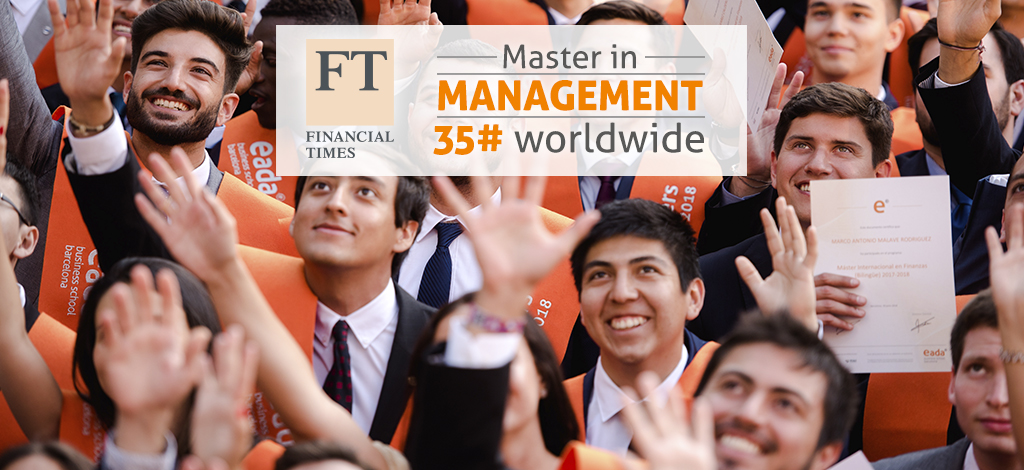 Master in Management Financial Times Ranking 2018