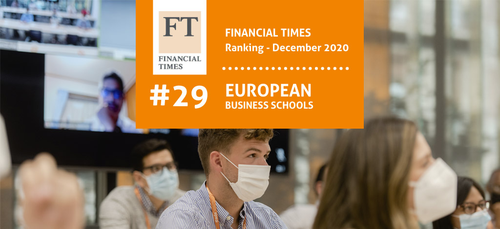 European Business School Ranking 2020 Financial Times