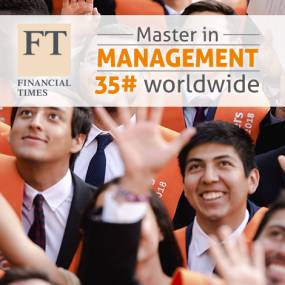 Master in Management FT Ranking 2018