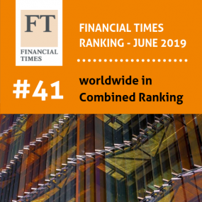 Financial Times Ranking 2019