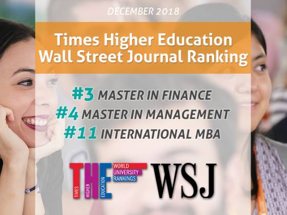 Times Higher Education/Wall Street Journal Ranking